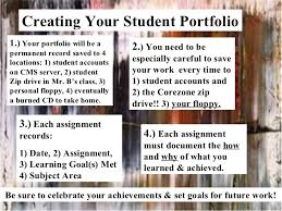 Student Portfolios Guide To Student Portfolios