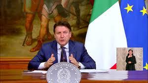 Giuseppe Conte - Conferenza stampa | Facebook