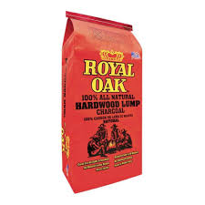 royal oak 15 44 lb 100 all natural hardwood lump charcoal