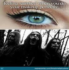 just black metal things