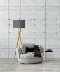 oak wood tripod leg floor lamp and cotton earth grey shade