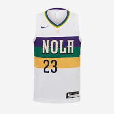 Davis Boys Nba City Nike Orleans Jersey New Anthony - Swingman White Edition Pelicans|2019 Fantasy Football Mock Draft