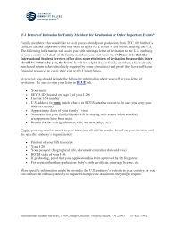 Sample Invitation Letter For Visitor Visa For Graduation Best Of 7