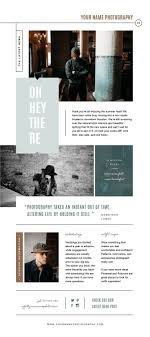 Magazine Newsletter Design Newsletter Template For Email Pinterest And Social Media