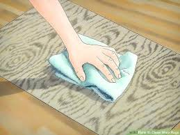 cleaning wool rugs yourself image titled clean wool rugs step 4 cleaning wool rug with vinegar