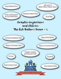 Graphic Organizers And Charts The Ela Bakers Dozen 1
