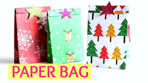Christmas Craft Diy Crafts Paper Gift Bag Easy For Christmas Craft Monkey