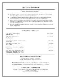 Sample Hospitality Resume Resume For Your Job Application