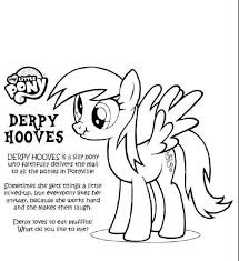 My Little Pony Friendship Is Magic Coloring Pages Derpy Jacqueline