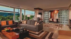 Executive Hospitality Suite ARIA Resort  Casino - Mgm signature 2 bedroom suite floor plan