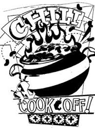chili cook off clipart black and white.  And Upcoming Events  Chili CookOff Contest Milbridge Area Merchants  Association Intended Cook Off Clipart Black And White