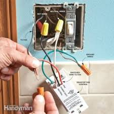 installing a remote motion detector for lighting the family handyman prevent mold the dewstop fan switch