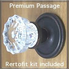 glass door knobs on doors. Fluted Crystal Glass/oil Rubbed Bronze Passage Door Knob Sets For Modern Doors+includes Our New Secure Set Screw System \u0026 Premium Retrofit Kit. Glass Knobs On Doors