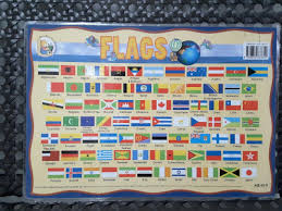 Flag Chart With Names Laminated Flag Chart Abt A3 Size Books Stationery