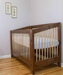 diy baby furniture. DIY Crib - Walnut And Maple From Matt Cremona Diy Baby Furniture