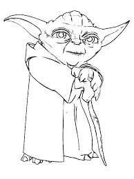 Paw patrol everest coloring pages printable and coloring book to print for free. Star Wars Master Yoda Coloring Page Free Printable Coloring Pages For Kids