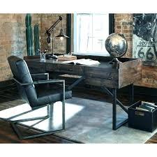 rustic home office desk home office desk modern rustic home office desk with steel