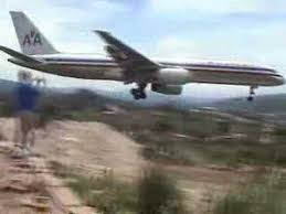 Aa 752 Approach To Tegucigalpa Toncontin