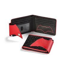 dc comics justice league red and black batman wallet packshot 1