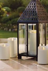 outdoor candle lighting. luminara outdoor flameless candle in assorted sizes at bedford fields lighting s