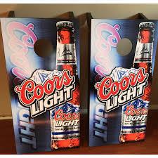 Coors Light Cornhole Custom Made Cornhole Bean Bag Toss Boards Coors Light Free Bags