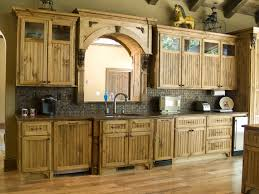 Pine Kitchen Cabinets For Kitchen Cabinet Decor End Kitchens Vintage Home Interior Decor