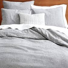 blue gray duvet cover light