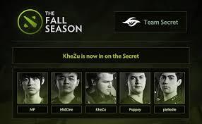 khezu new player team secret dota 2 news 2583 khezu new player