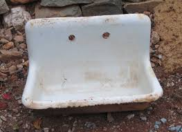 cast iron sink as a work of art statlerprojects s blog
