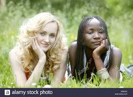 Black woman on white women lesbian