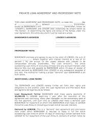 Yearly Contract Templates Corporate Loan Contract Sample Private Loan Agreement Template 2