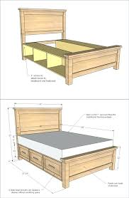 storage bed plans. Perfect Plans Related Post Inside Storage Bed Plans E