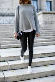 the cutest star sneakers for under 30 cozy and edgy outfit the best faux leather leggings