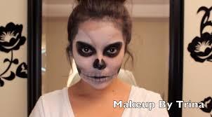 scary skull makeup tutorial