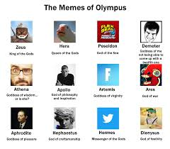 The Memes Of Olympus Dankmemes