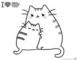 20 Coudling Coloring Pages With Cats Ideas And Designs