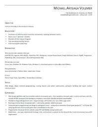 Resume Templates For Openoffice Resume Templates For Resume Template