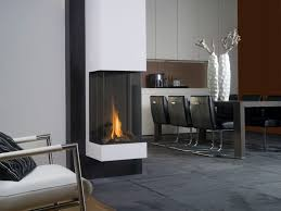 gas fireplace contemporary 3 sided closed hearth view bell vertical bellfires