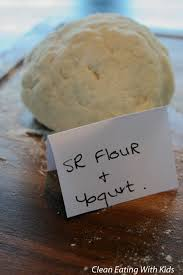 easy homemade pizza dough with self rising flour. two ingredient pizza dough-2 dough using self raising flour easy homemade with rising