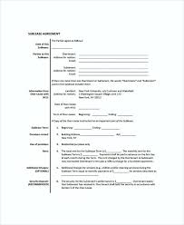 residential sublease agreement template. Commercial Sublease Agreement A Business Template Tenancy Free Word