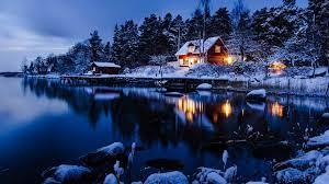 Winter Night HD Wallpaper (1920x1080 ...