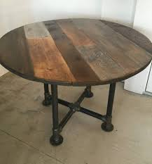 cosy reclaimed wood round dining table home ideas for top tops 60 72 within round reclaimed