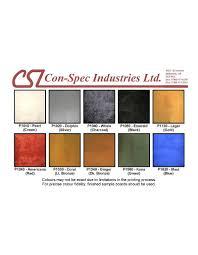 Tremco Dymonic Fc Color Chart 15 Specific Dymonic Color Chart