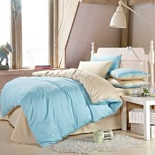 light blue and cream bedding 11371 with regard to solid duvet cover prepare 6