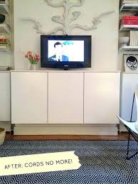 wall mount tv where to put cable box hiding your cable box how to hide your