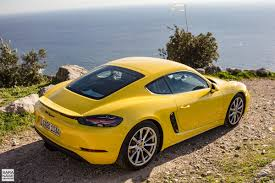 First drive: Porsche 718 Cayman - Racing yellow in South of France
