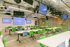 facebook office design. Conyers-Haynes, Courtesy Of Facebook Office Design