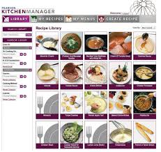 features for educators myculinarylab pearson pearson kitchen manager