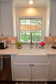 Farmhouse Style Kitchen Sinks White Cabinets Farmhouse Style Sink And Cambria Torquay Counters