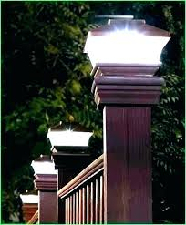 outdoor fence lighting solar fence lights home depot post cap outdoor paa lamp light caps luxury outdoor fence lighting